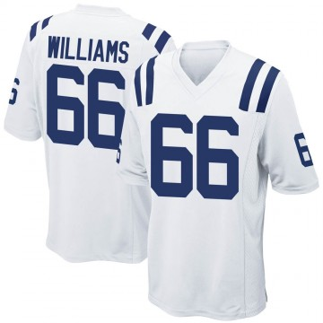 Youth Nike Indianapolis Colts Chris Williams White Jersey - Game