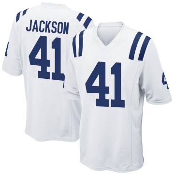 Youth Nike Indianapolis Colts Darius Jackson White Jersey - Game