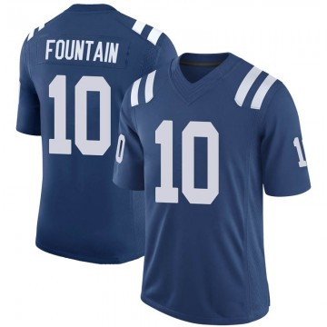 Youth Nike Indianapolis Colts Daurice Fountain Royal 100th Vapor Jersey - Limited