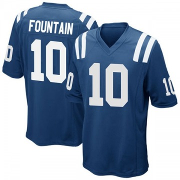 Youth Nike Indianapolis Colts Daurice Fountain Royal Blue Team Color Jersey - Game