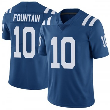 Youth Nike Indianapolis Colts Daurice Fountain Royal Color Rush Vapor Untouchable Jersey - Limited