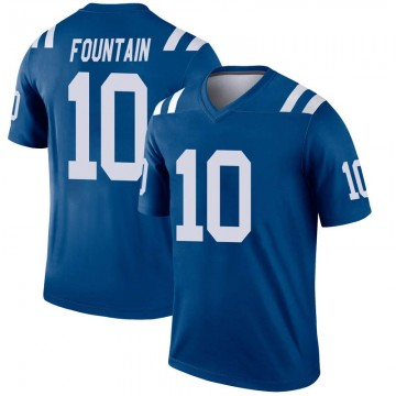 Youth Nike Indianapolis Colts Daurice Fountain Royal Inverted Jersey - Legend