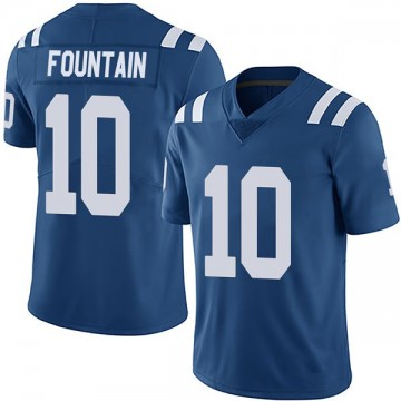 Youth Nike Indianapolis Colts Daurice Fountain Royal Team Color Vapor Untouchable Jersey - Limited