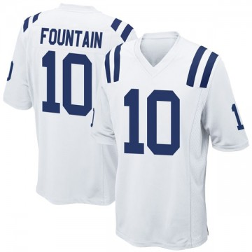 Youth Nike Indianapolis Colts Daurice Fountain White Jersey - Game
