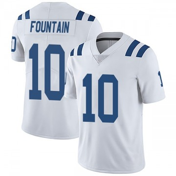 Youth Nike Indianapolis Colts Daurice Fountain White Vapor Untouchable Jersey - Limited
