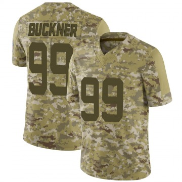 Youth Nike Indianapolis Colts DeForest Buckner Camo 2018 Salute to Service Jersey - Limited