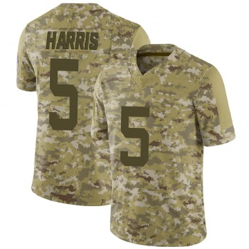Youth Nike Indianapolis Colts De'Michael Harris Camo 2018 Salute to Service Jersey - Limited