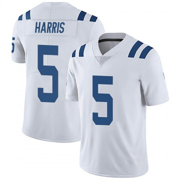 Youth Nike Indianapolis Colts De'Michael Harris White Vapor Untouchable Jersey - Limited