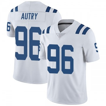 Youth Nike Indianapolis Colts Denico Autry White Vapor Untouchable Jersey - Limited