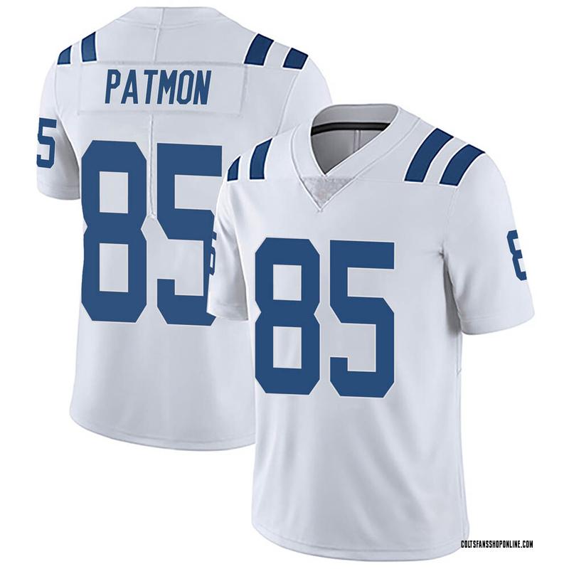 Youth Nike Indianapolis Colts Dezmon Patmon White Vapor Untouchable Jersey - Limited
