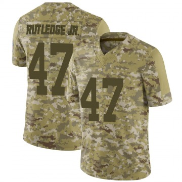 Youth Nike Indianapolis Colts Donald Rutledge Jr. Camo 2018 Salute to Service Jersey - Limited