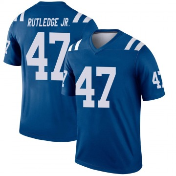 Youth Nike Indianapolis Colts Donald Rutledge Jr. Royal Jersey - Legend