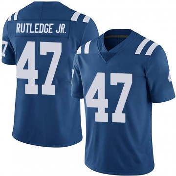 Youth Nike Indianapolis Colts Donald Rutledge Jr. Royal Team Color Vapor Untouchable Jersey - Limited
