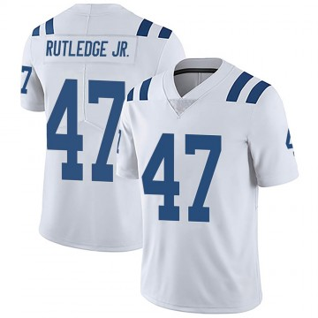 Youth Nike Indianapolis Colts Donald Rutledge Jr. White Vapor Untouchable Jersey - Limited