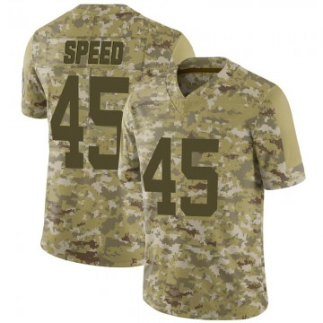 Youth Nike Indianapolis Colts E.J. Speed Camo 2018 Salute to Service Jersey - Limited