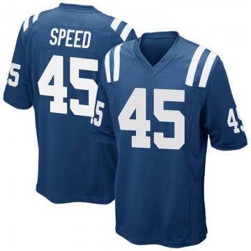 Youth Nike Indianapolis Colts E.J. Speed Royal Blue Team Color Jersey - Game