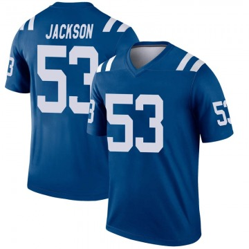 Youth Nike Indianapolis Colts Edwin Jackson Royal Inverted Jersey - Legend