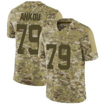 Youth Nike Indianapolis Colts Eli Ankou Camo 2018 Salute to Service Jersey - Limited