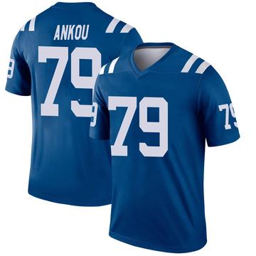 Youth Nike Indianapolis Colts Eli Ankou Royal Jersey - Legend