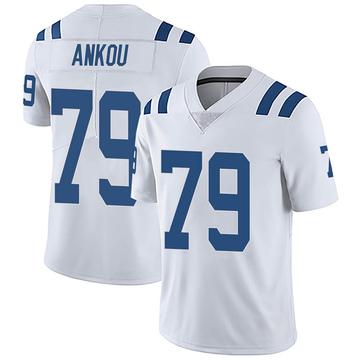 Youth Nike Indianapolis Colts Eli Ankou White Vapor Untouchable Jersey - Limited