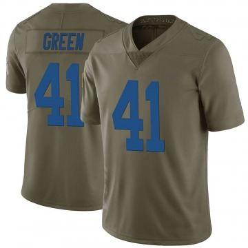 Youth Nike Indianapolis Colts Farrod Green Green 2017 Salute to Service Jersey - Limited