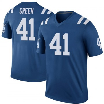 Youth Nike Indianapolis Colts Farrod Green Green Color Rush Royal Jersey - Legend
