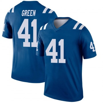 Youth Nike Indianapolis Colts Farrod Green Green Royal Jersey - Legend