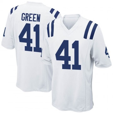 Youth Nike Indianapolis Colts Farrod Green White Jersey - Game