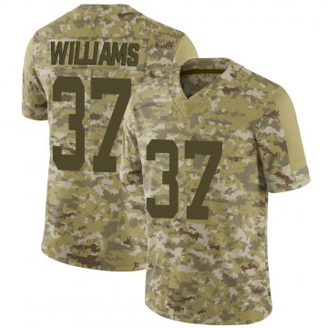 Youth Nike Indianapolis Colts Frankie Williams Camo 2018 Salute to Service Jersey - Limited