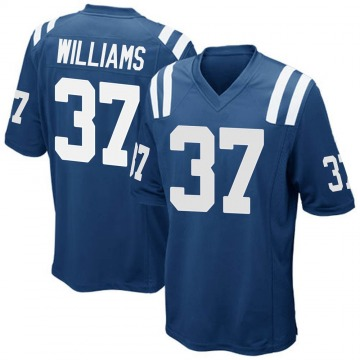 Youth Nike Indianapolis Colts Frankie Williams Royal Blue Team Color Jersey - Game