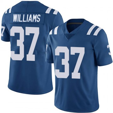 Youth Nike Indianapolis Colts Frankie Williams Royal Team Color Vapor Untouchable Jersey - Limited