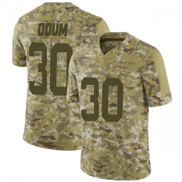 Youth Nike Indianapolis Colts George Odum Camo 2018 Salute to Service Jersey - Limited