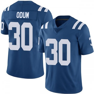 Youth Nike Indianapolis Colts George Odum Royal Team Color Vapor Untouchable Jersey - Limited