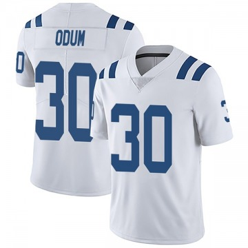 Youth Nike Indianapolis Colts George Odum White Vapor Untouchable Jersey - Limited