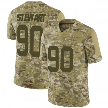 Youth Nike Indianapolis Colts Grover Stewart Camo 2018 Salute to Service Jersey - Limited