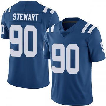 Youth Nike Indianapolis Colts Grover Stewart Royal Team Color Vapor Untouchable Jersey - Limited