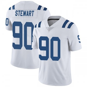 Youth Nike Indianapolis Colts Grover Stewart White Vapor Untouchable Jersey - Limited