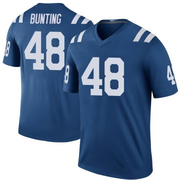 Youth Nike Indianapolis Colts Ian Bunting Royal Color Rush Jersey - Legend