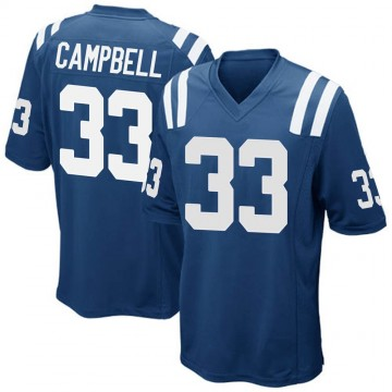 Youth Nike Indianapolis Colts Ibraheim Campbell Royal Blue Team Color Jersey - Game