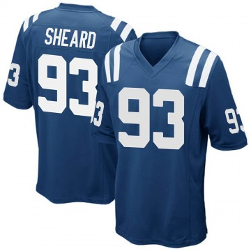 Youth Nike Indianapolis Colts Jabaal Sheard Royal Blue Team Color Jersey - Game