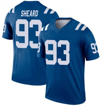Youth Nike Indianapolis Colts Jabaal Sheard Royal Inverted Jersey - Legend