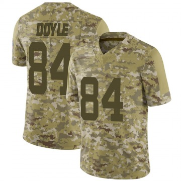 Youth Nike Indianapolis Colts Jack Doyle Camo 2018 Salute to Service Jersey - Limited