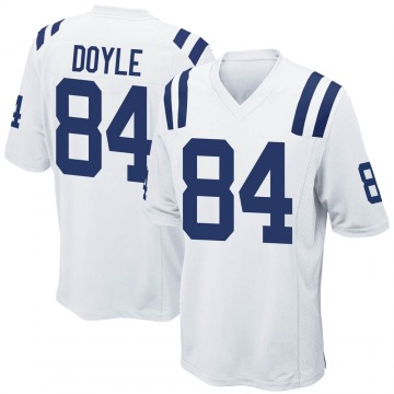 Youth Nike Indianapolis Colts Jack Doyle White Jersey - Game