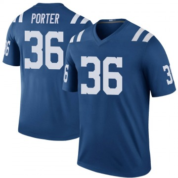 Youth Nike Indianapolis Colts Jackson Porter Royal Color Rush Jersey - Legend