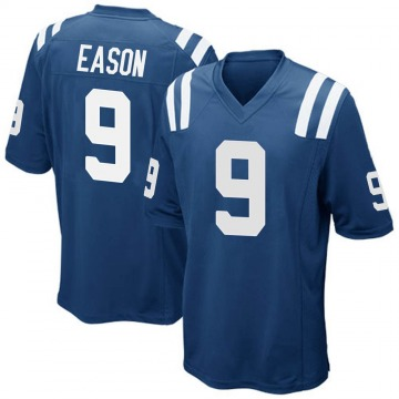 Youth Nike Indianapolis Colts Jacob Eason Royal Blue Team Color Jersey - Game