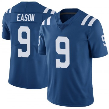 Youth Nike Indianapolis Colts Jacob Eason Royal Color Rush Vapor Untouchable Jersey - Limited