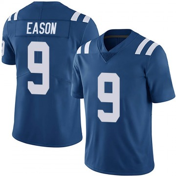 Youth Nike Indianapolis Colts Jacob Eason Royal Team Color Vapor Untouchable Jersey - Limited