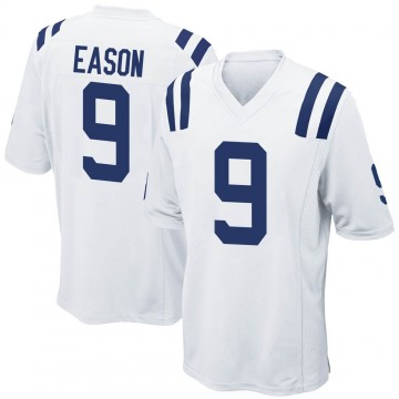 Youth Nike Indianapolis Colts Jacob Eason White Jersey - Game