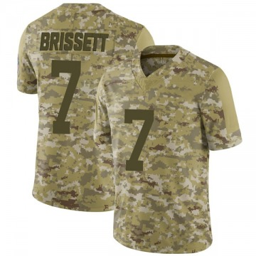 Youth Nike Indianapolis Colts Jacoby Brissett Camo 2018 Salute to Service Jersey - Limited