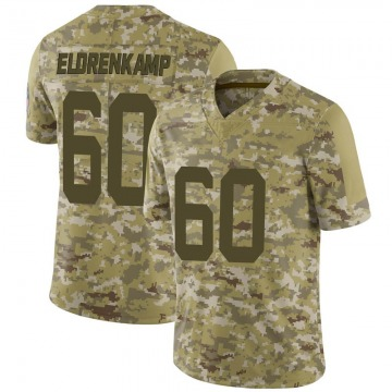 Youth Nike Indianapolis Colts Jake Eldrenkamp Camo 2018 Salute to Service Jersey - Limited